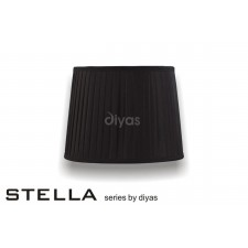 Diyas Stella Round Shade Black 300mm