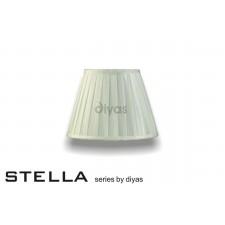 Diyas Stella Round Shade Ivory 250mm