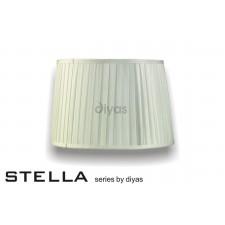 Diyas Stella Round Shade Ivory 350mm