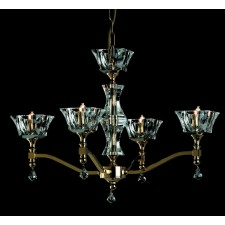 Impex Bresica Chandelier Gold - 4 Light