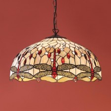 Interiors1900 Beige Dragonfly Large Pendant