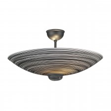 Swirl Semi Flush Ceiling Light