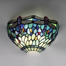Interiors1900 Dragonfly Blue Wall Light