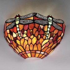 Interiors1900 Dragonfly Flame Wall Light