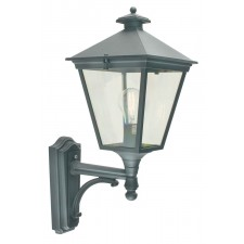 Norlys T1 BLACK Turin Up Wall Lantern Black