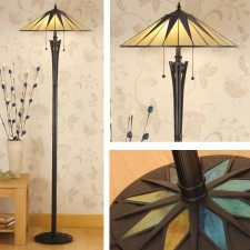 Interiors1900 Dark Star Floor Lamp