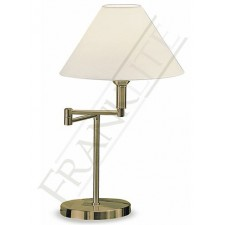 Franklite Swing Arm Table Lamp - Bronze, Complete with Shade