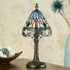 Interiors1900 Dragonfly Blue Mini Lamp
