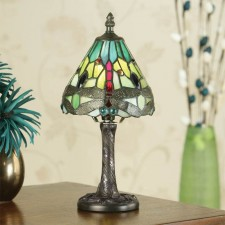 Interiors1900 Dragonfly Green Mini Lamp