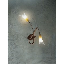 Treviso Wall Lamp - 2 Light, Antique Brown