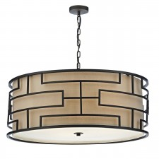Tumola 4 Light Pendant Bronze
