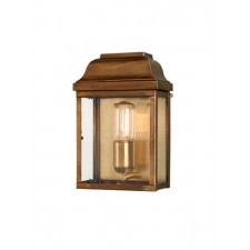 Elstead VICTORIA BR Victoria Wall Lantern Brass