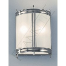 Franklite WB934 Mentmore Wall Lantern - Pewter, Cast Brass