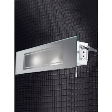 Franklite Mirrored Wall Light IP44 - Glass