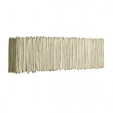 Willow Wall Washer Old Ivory complete with 1 X 39W Low Energy