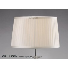 Diyas Willow White 30cmShade