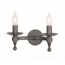 Elstead WR2 GRAPHITE Warwick 2 - Light Wall Light Graphite