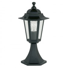 Aluminium Yule Post Light - Black