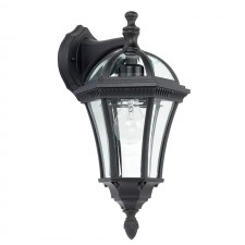 Elegant Outdoor Down Lantern - Black