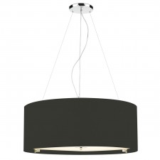 Zaragoza Ceiling Light - 90cm Black