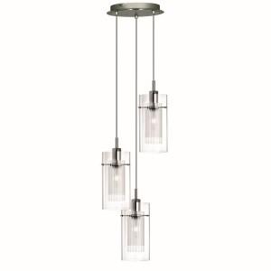 Duo 1 Ceiling Light - 3 light pendant