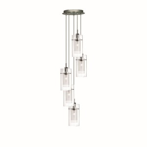 Duo 1 Ceiling Light - 5 light pendant