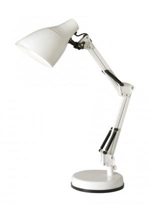 Oaks Lighting 3920 TL WH 1 X 40W Es White Draven