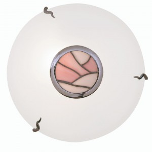 Tiffany Flush Ceiling Light