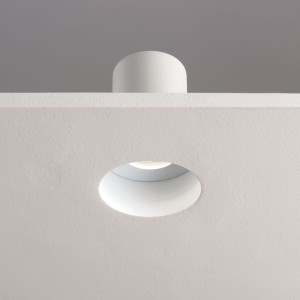 Astro Lighting Trimless Round 230v Ceiling Light - 1 Light, White