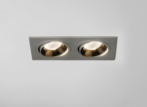 Astro Lighting Aprilia Downlight - 2 Light, Anodised Aluminium