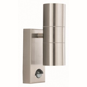 IP44 Outdoor Light - Motion Sensor/Steel