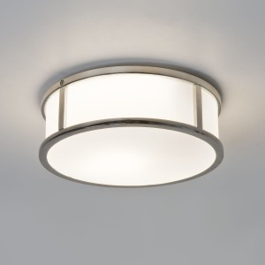 Astro Lighting Mashiko Round 230 Ceiling Light Polished Chrome - 1-Light