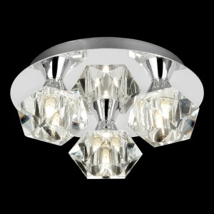 Arietta 3 Light Ceiling Plate