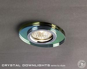 Diyas Oval Crystal Downlight Spectrum (Rim Only)