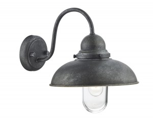 Dynamo IP44 Single Wall Bracket - Aged Iron