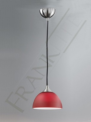 Franklite 933 Red Pendant Glass Small