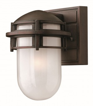 Hinkley Lighting HK/REEF/MINI VZ Reef Mini 1 - Light Lantern Victorian Bronze