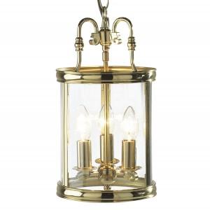 Lambeth Lantern (Dual Mount) - Polished Brass