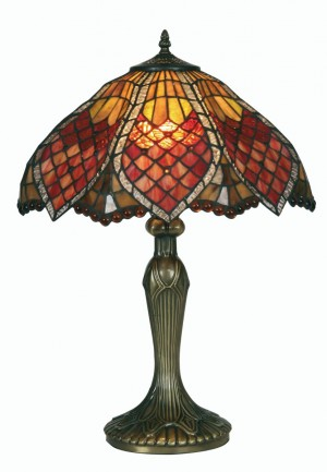 Orsino Tiffany Table Lamp - Large