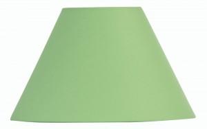 Oaks Lighting S501/12 GR Green Cotton Coolie Shade