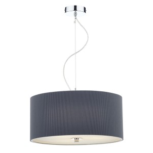 Zaragoza Pendant Light (60CM) - 3 Light, Grey